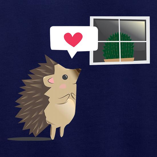 Hedgehog In Love t shirt