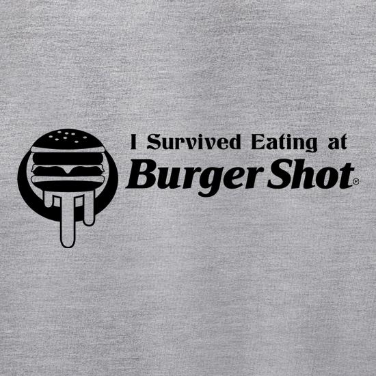 I survived eating at Burger Shot - GTA V t shirt