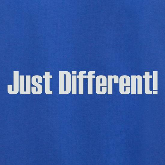 Just Different t shirt