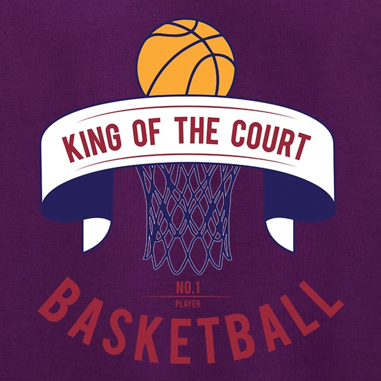King Of The Basketball Court t shirt