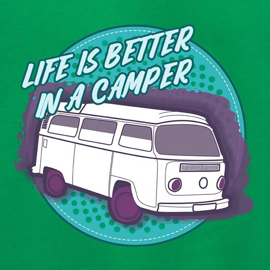 Life Is Better In A Camper t shirt