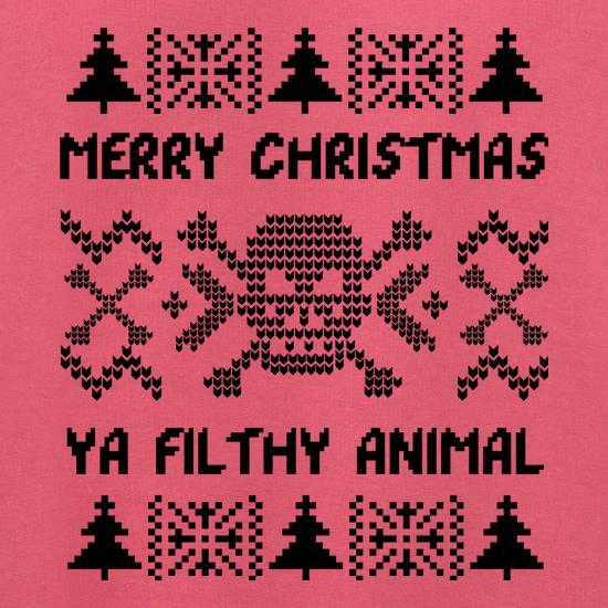 Merry Christmas Animal t shirt