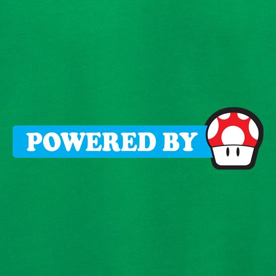 Powered By Mushroom t shirt
