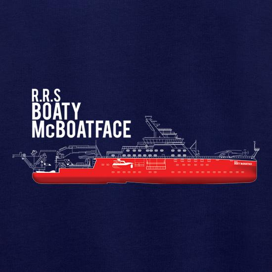 RRS Boaty McBoatface t shirt