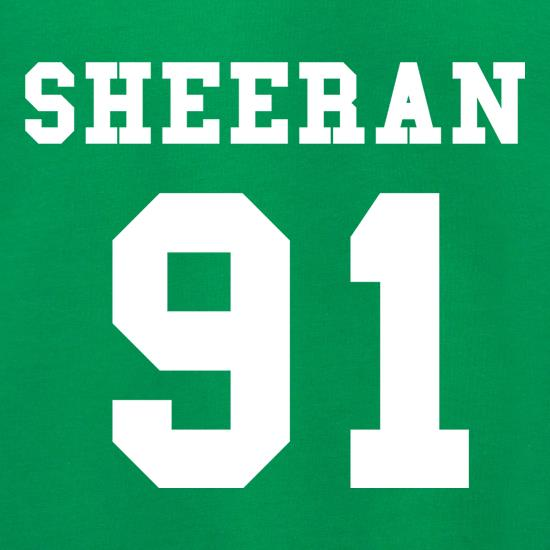Sheeran 91 t shirt