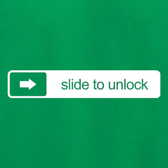 Slide To Unlock t shirt