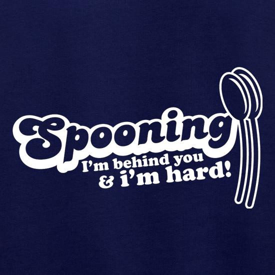 Spooning I'm behind you and I'm hard! t shirt