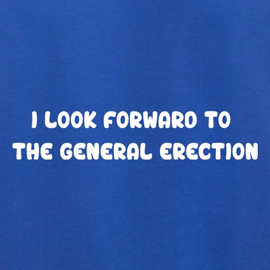 The General Erection t shirt