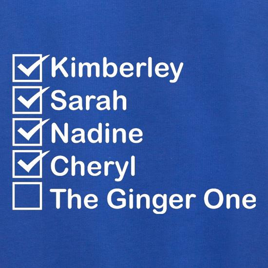 The Ginger One t shirt