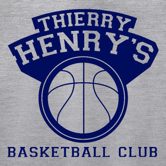 Thierry Henry's Basketball Club t shirt