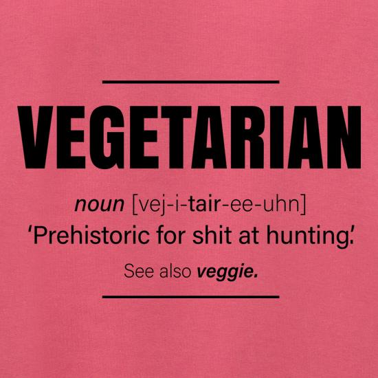 Vegetarian Definition t shirt