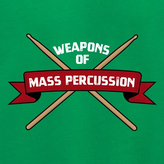 Weapons Of Mass Percussion t shirt