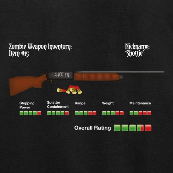 Zombie Shottie t shirt