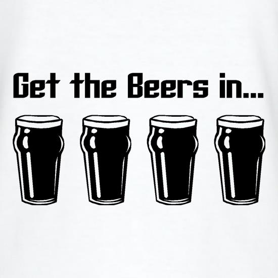 Get the beers in t shirt