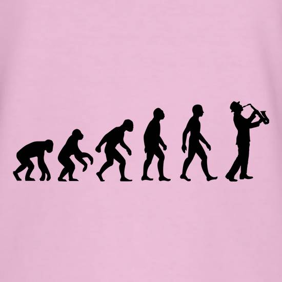 Evolution Of Man Saxophone t shirt