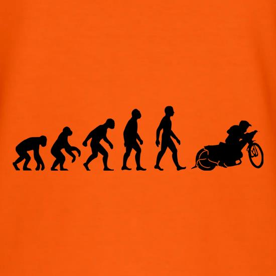 Evolution Of Man Speedway t shirt