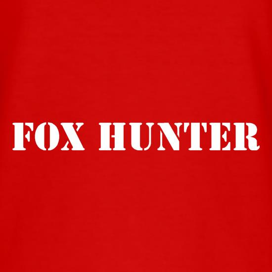 Fox Hunter t shirt