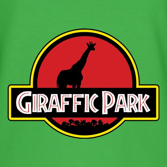 Giraffic Park t shirt