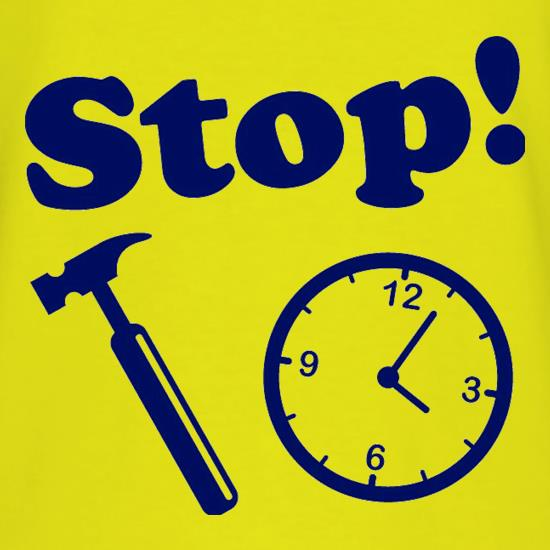 Stop! Hammer Time t shirt