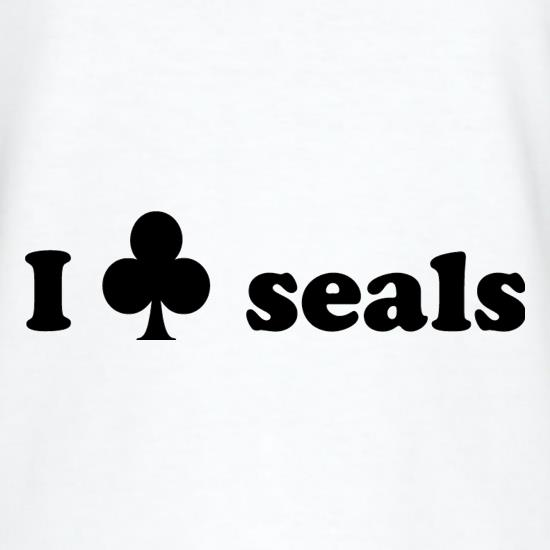 I Club Seals t shirt