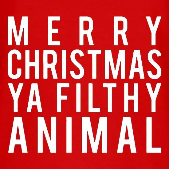 Merry Christmas Ya Filthy Animal Shirt Amazon 67