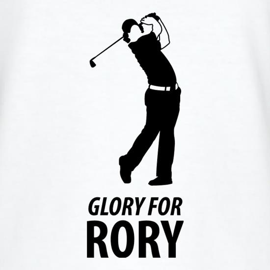 Rory McIlroy - Glory For Rory t shirt