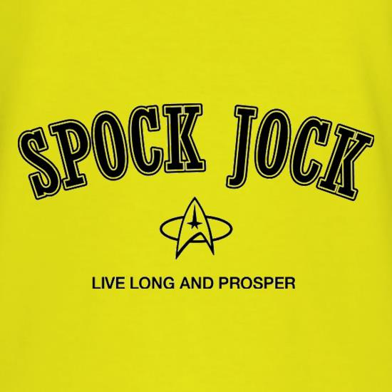 Spock Jock Live Long And Prosper t shirt
