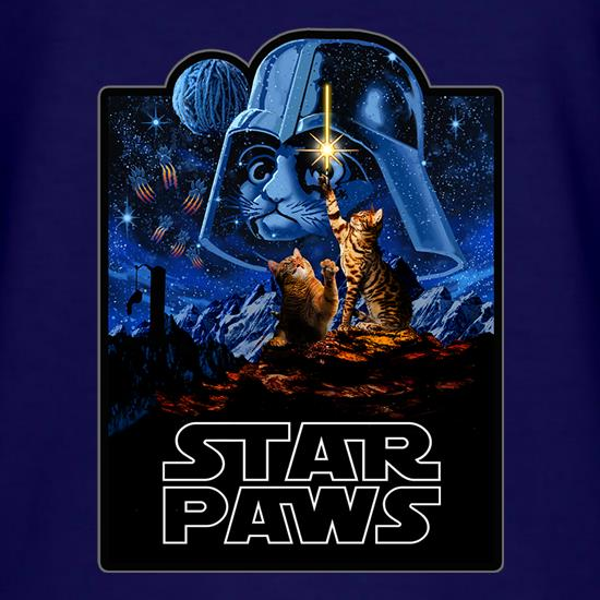 Star Paws t shirt