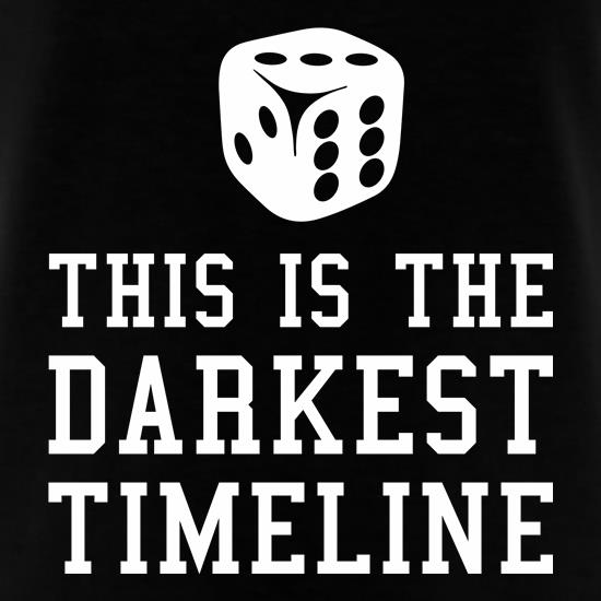 This Is The Darkest Timeline t shirt