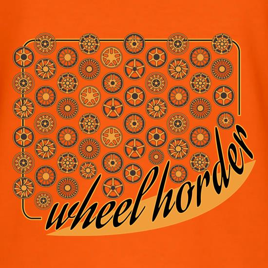 Wheel Horder t shirt