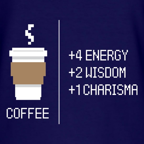 8 Bit Coffee t shirt