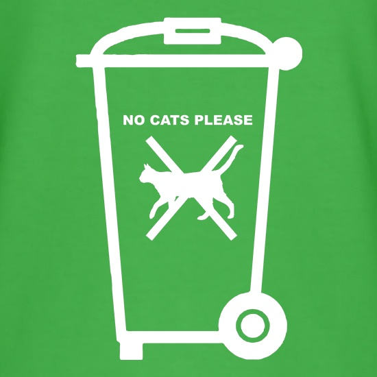 No Cats Please t shirt