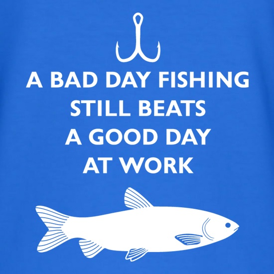 I hear what you 39 re saying let me whip out my thinking for Is it a good day to fish