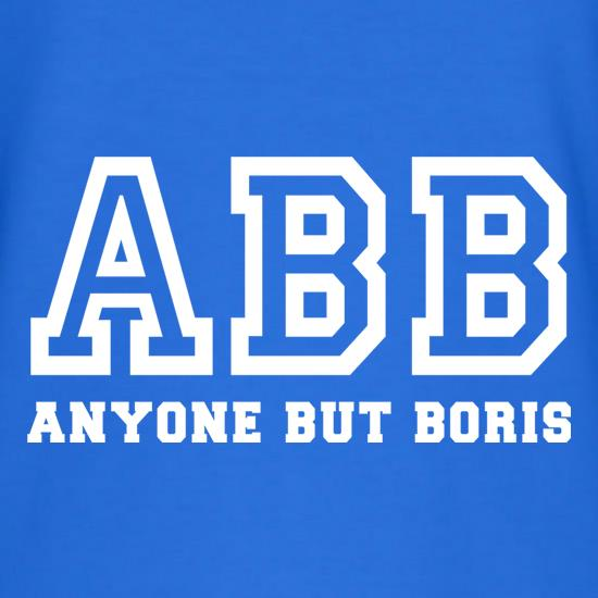 Anyone But Boris t shirt