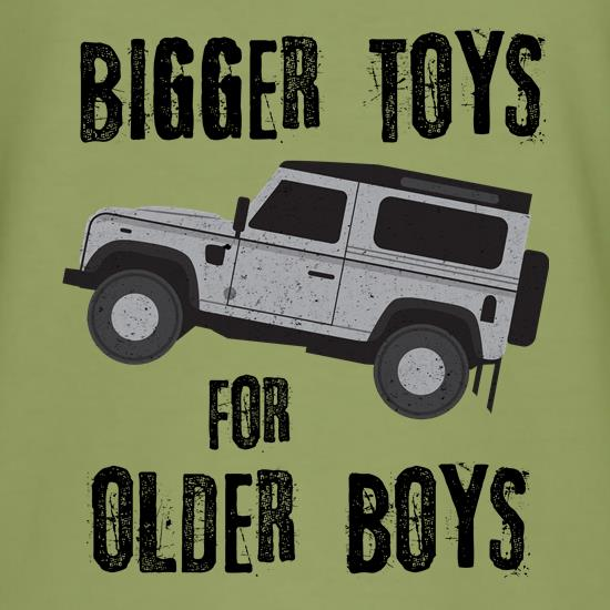 Bigger Toys For Older Boys t shirt