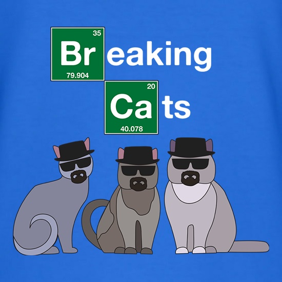 Breaking Cats t shirt