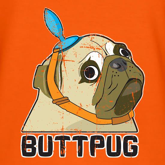 Buttpug t shirt