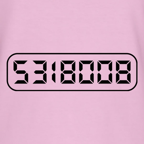 Calculator Boobies t shirt
