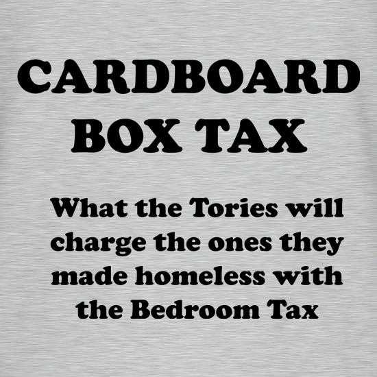 Cardboard Box Tax t shirt