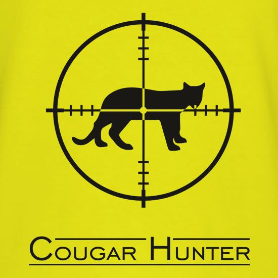 Cougar Hunter t shirt