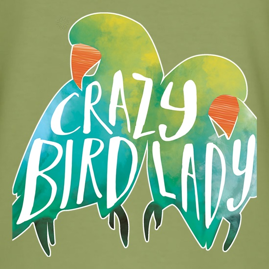 Crazy Bird Lady t shirt
