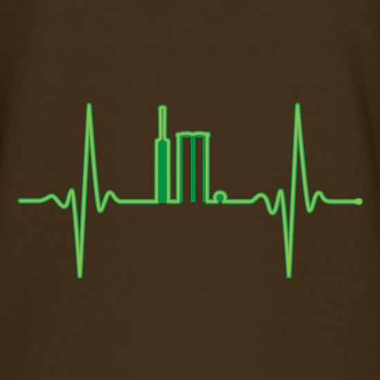 Cricket Heartbeat Monitor t shirt
