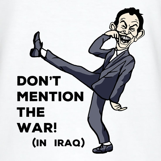 Dont Mention The War! t shirt