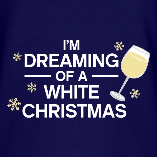 Dreaming Of A White Christmas t shirt