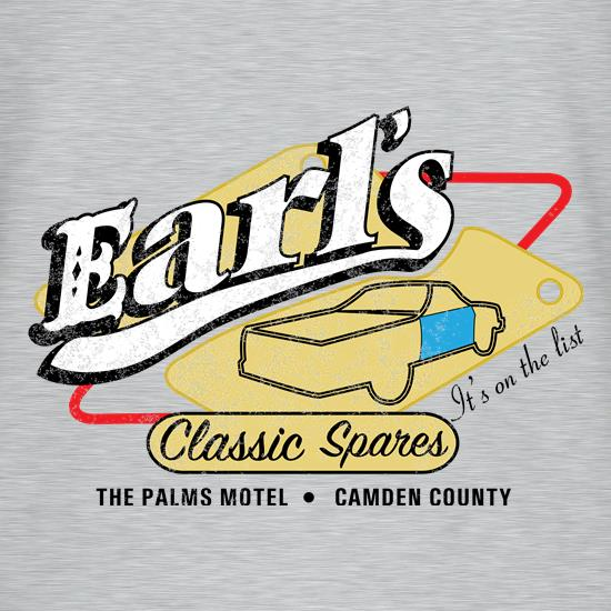 Earls Classic Spares t shirt