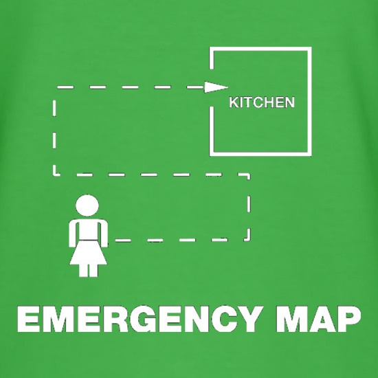 Emergency Map t shirt