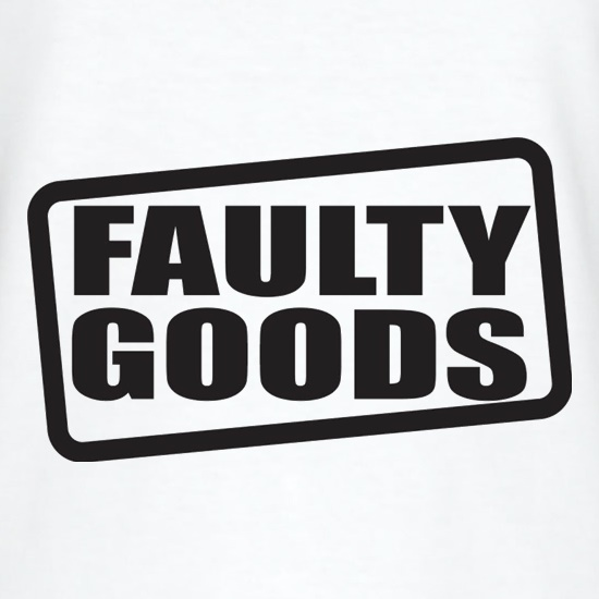 Faulty Goods t shirt