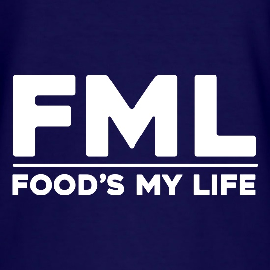 Food's My Life t shirt
