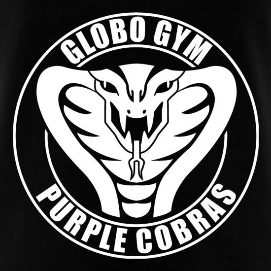 Globo Gym Purple Cobras t shirt