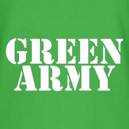 Green Army t shirt